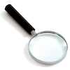 Glass Hand Magnifier  small