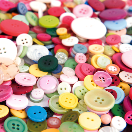Assorted Buttons 500g  large