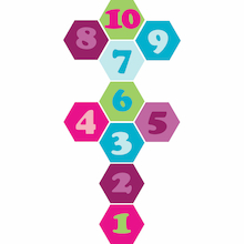 1-10 Numbers Playground Sign  medium