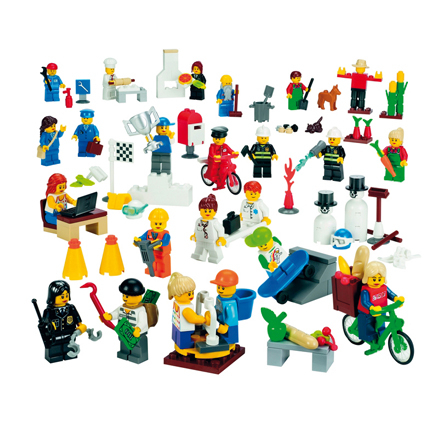 LEGO Community Minifigures 22pcs  large