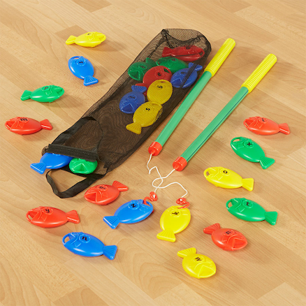 Plastic Fish Alphabet Fishing Set 28pcs  large
