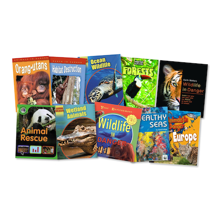 Wildflide in Danger Books 10pk  large