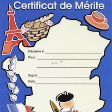 French Certificates 60pk  medium
