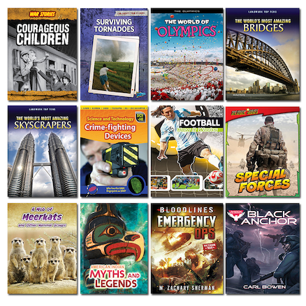 KS3 Accelerated Reader Level 5-6 Book Pack 12pk  large