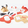 Assorted Festive Craft Gift Boxes 30pk  small