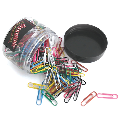 TTS Assorted Paperclips 6pk  large