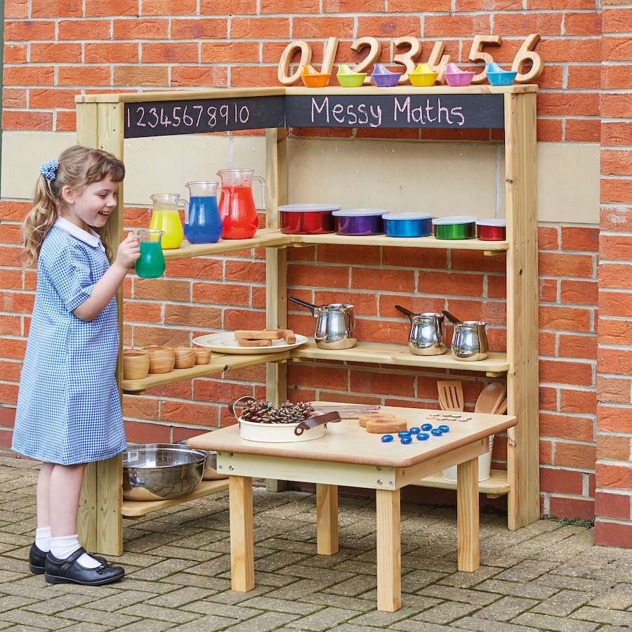 Buy Outdoor Wooden Shelving Unit Tts