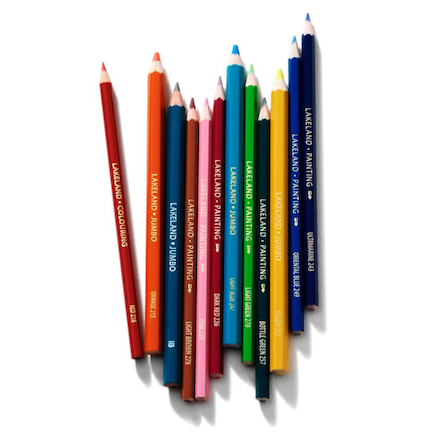 Lakeland Jumbo Colouring Pencils Pack  large