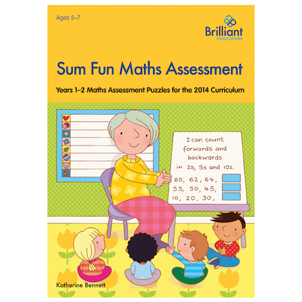 Sum Fun Maths Assessment Book  large
