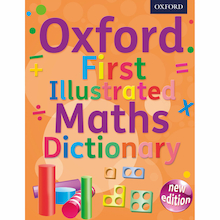 Oxford First Illustrated Maths Dictionary  medium