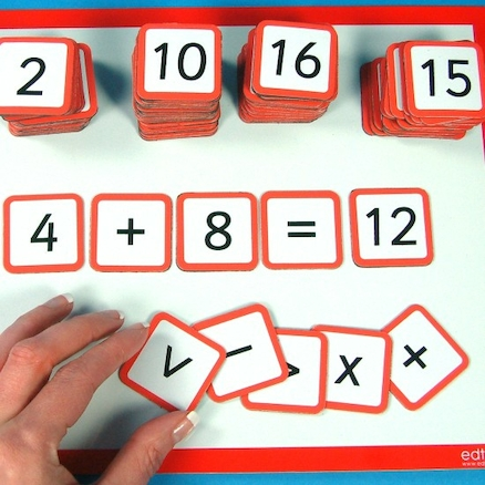 Magnetic Number Tiles 130pk  large