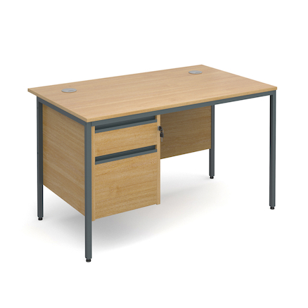 Maestro Rectangular Two Drawer Desks  large