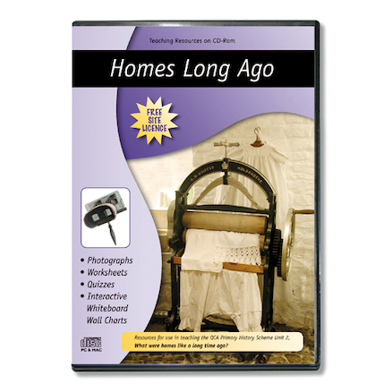 Homes Long Ago Teaching Resources CD ROM  large