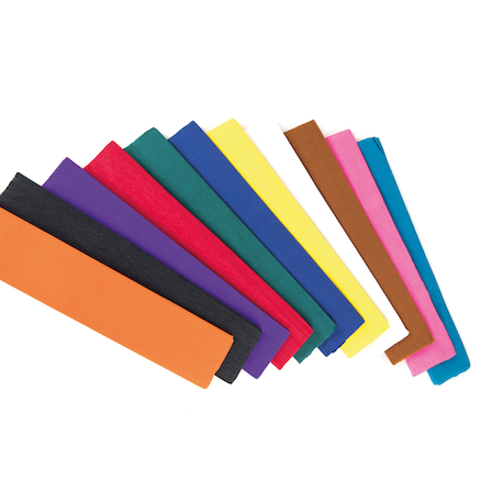 Single Coloured Crepe Paper  large