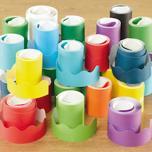 Assorted Fadeless Card Border Display Rolls 36pk  medium