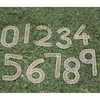Sea Grass Outdoor Weaving Numbers 0-9  small