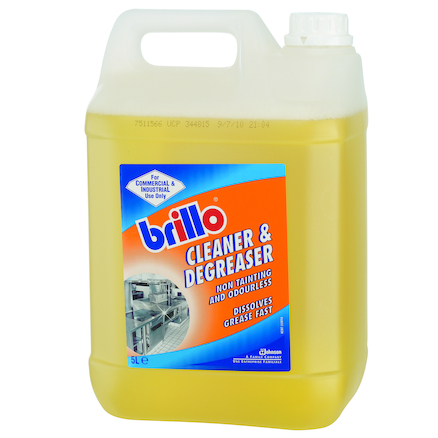 Brillo Liquid Cleaner and Degreaser 2pk 5l  large