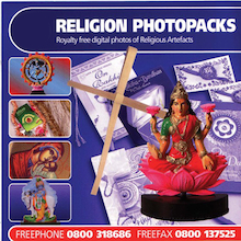 World Religions Artefact CD ROM  medium