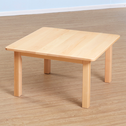 Solid Beech Square Classroom Tables  large