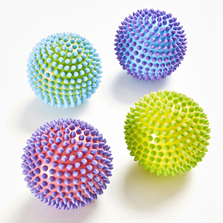 Soft and Textured Sensory Balls 4pk  large