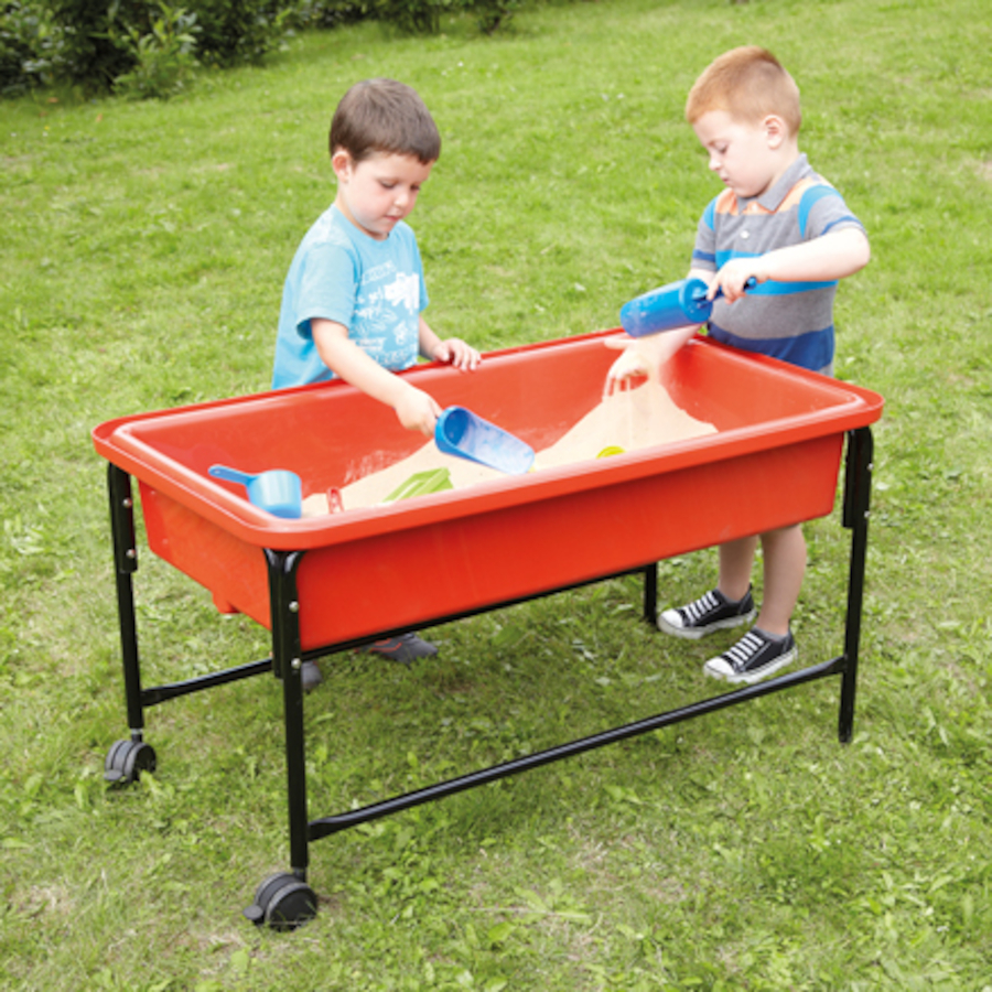 Buy sand and water play trays tts for Tray garden designs