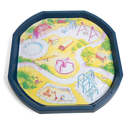 Active World Tuff Tray Playground Mat  large