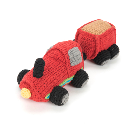 Fairtrade Crocheted Transport Set 4pcs  large