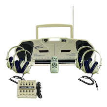 Califone CD Player and Recorder with Headphones  medium