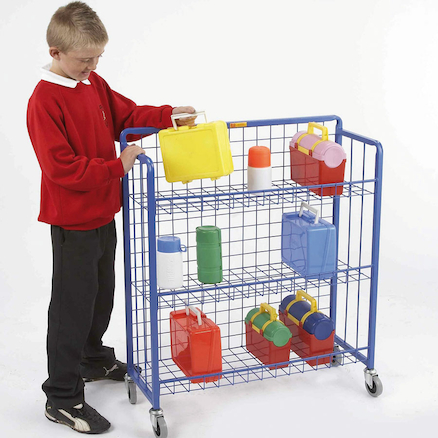 Sturdy Lunchbox Trolley  large