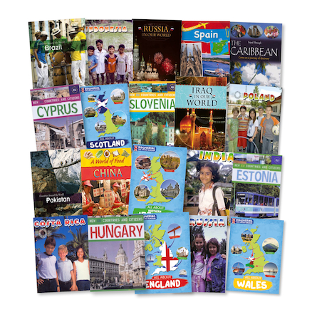 Countries Around The World Books 20pk  large