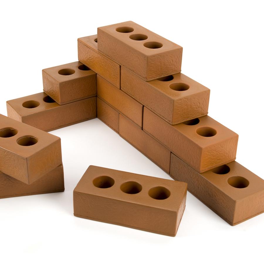 Buy Role Play Foam House Building Bricks Foam Bricks Tts