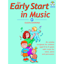 An Early Start in Music Book and CD  medium