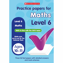 Maths Practice Exam Papers Level 6  medium