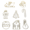 Christmas Decoration Glass Painting Set  small