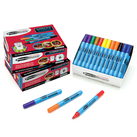Show-me® Dry Wipe Pens Fine Tip  large
