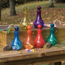 Plastic Messy Play Potion Bottles   medium