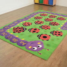 Chloe Caterpillar Literacy and Numeracy Carpet  medium