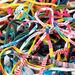 Bright Creative Rag Yarn Assorted 1m 30pk  hi\-res