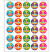 100% Attendance Stickers  hi\-res