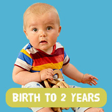 Shop by Room: Birth-2 years