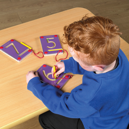 Wooden Magnetic Learning Numbers 0-9  large