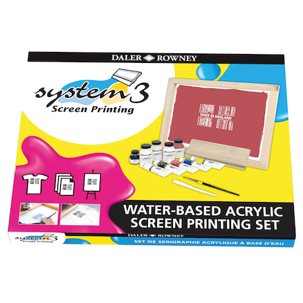 SYSTEM 3 Screen Printing Set  large
