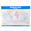 Simple World Map A1 Political and Relief  small