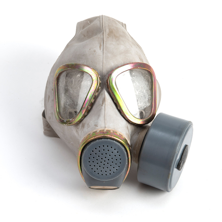 Gas Mask and Bag  large
