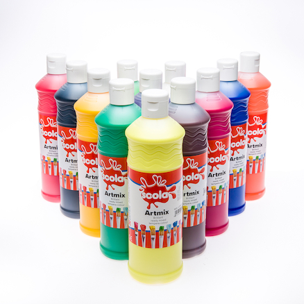 Ready Mixed Assorted Paint 12pk  large