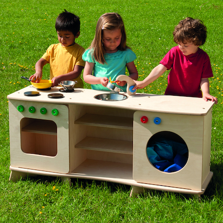 Outdoor Role Play Kitchen Unit  large