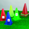 Cones and Adhesive Pockets 10pk  small