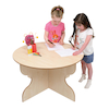 Round Indoor Table for Early Years  small