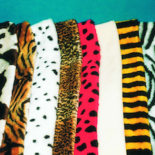 Animal Print Fur Fabric 8pk  medium