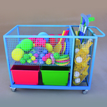 Heavy Duty Sports Storage Trolley  medium